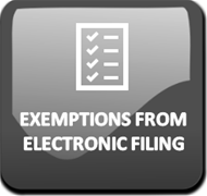 Exemptions from Electronic Filing