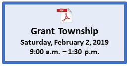 Grant Township Mobile Passport Event Page Button