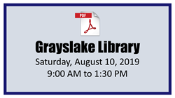 Grayslake Library Mobile Passport Event 08-10-2019