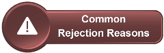 Common Rejection Reasons