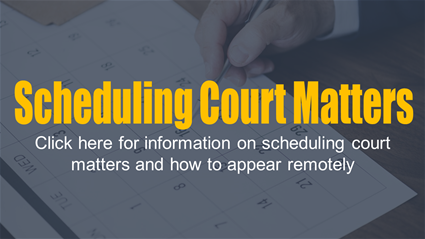 Click for more information on scheduling and appearing remotely