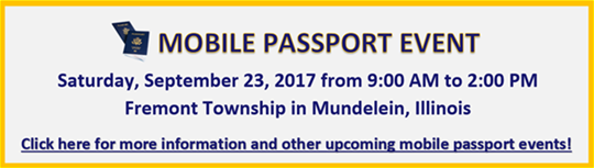 Fremont Township Mobile Passport Event